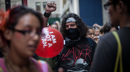 Mỹ: Bắt 200 người biểu tình Chiếm phố Wall - 4