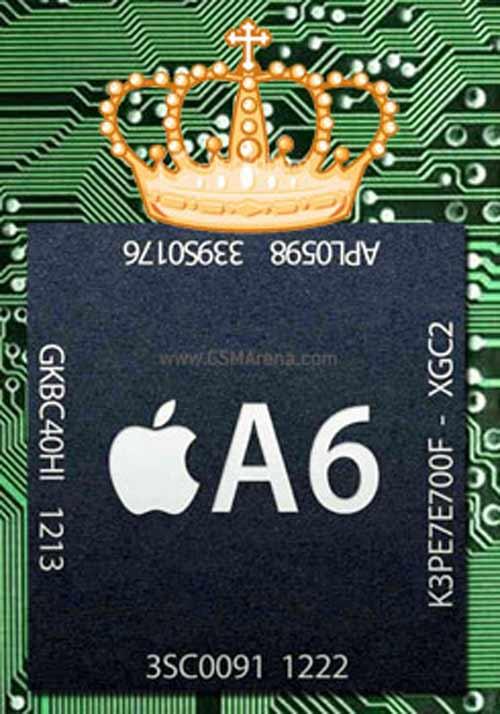 Bí mật về chip A6 trên iPhone 5 - 1
