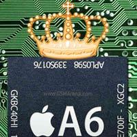 Bí mật về chip A6 trên iPhone 5