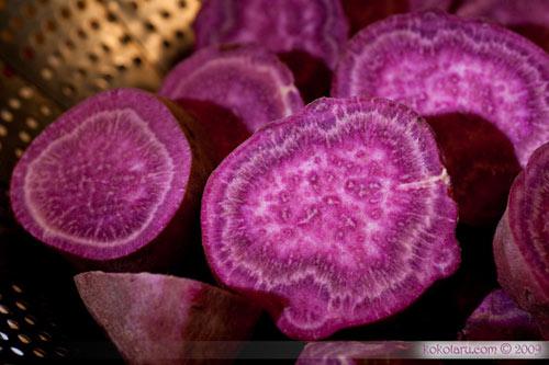 4 loại rau củ màu tím chống lão hóa - 1