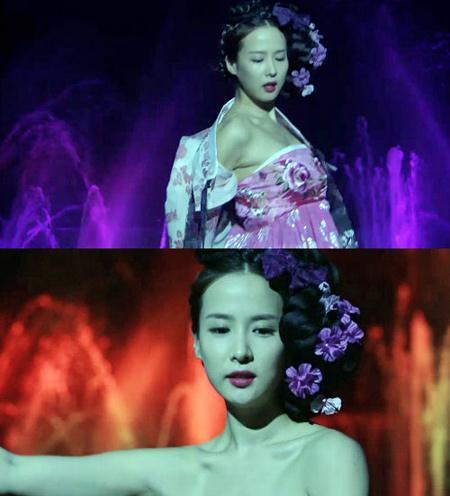 Cảnh khoe ngực lộ liễu của phim Hàn - 6