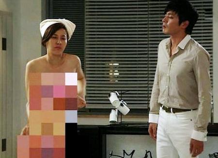 Cảnh khoe ngực lộ liễu của phim Hàn - 8