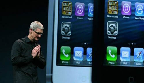 Cổ phiếu Apple lập đỉnh 700 USD nhờ iPhone 5 - 1