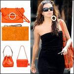 """Thời trang - """"Cơn lốc màu cam"""" của mỹ nhân Hollywood"""