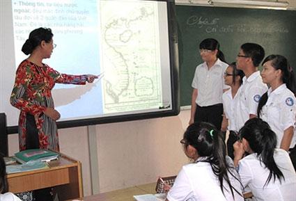 Bảo vệ Hoàng Sa, Trường Sa qua từng tiết học - 1