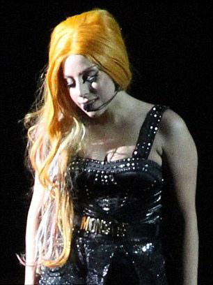 Lady Gaga mang lò mổ thịt lên sân khấu - 8