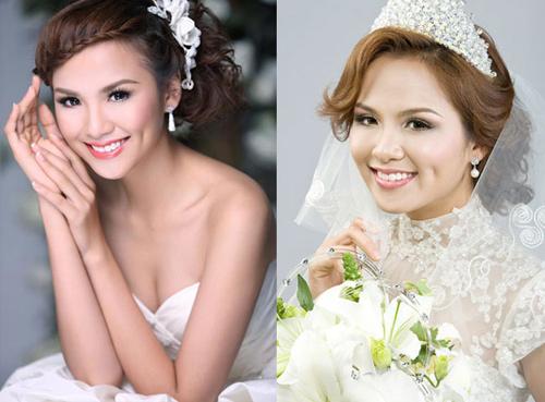 Mỹ nhân Việt đọ sắc cùng váy cưới - 14
