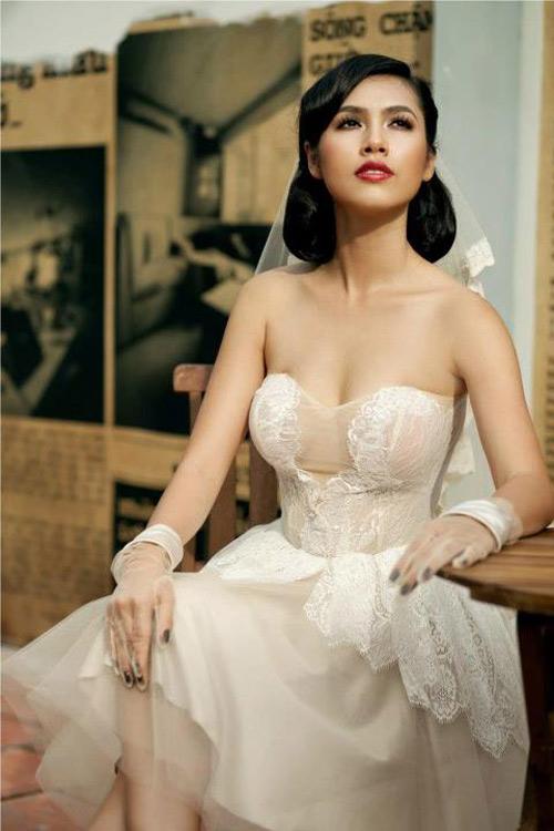 Mỹ nhân Việt đọ sắc cùng váy cưới - 11