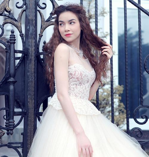 Mỹ nhân Việt đọ sắc cùng váy cưới - 10