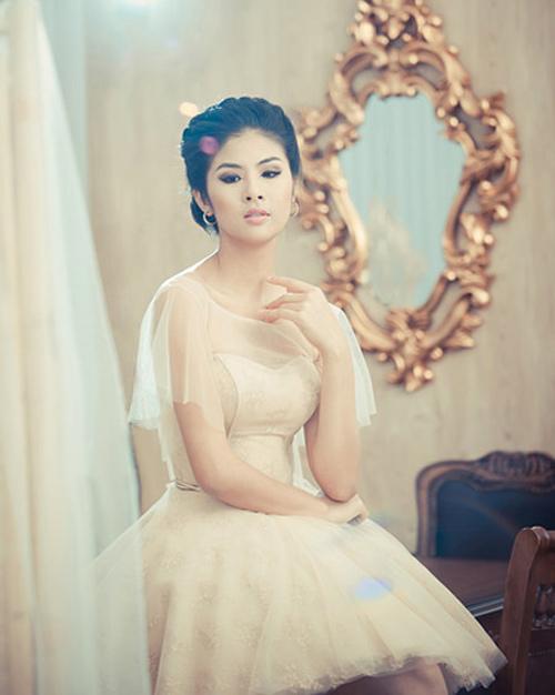 Mỹ nhân Việt đọ sắc cùng váy cưới - 15