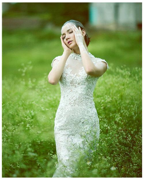 Mỹ nhân Việt đọ sắc cùng váy cưới - 6