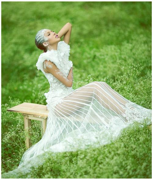 Mỹ nhân Việt đọ sắc cùng váy cưới - 2