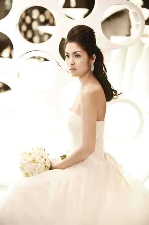 Mỹ nhân Việt đọ sắc cùng váy cưới - 7