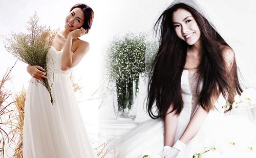 Mỹ nhân Việt đọ sắc cùng váy cưới - 8