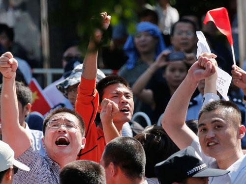 Trung Quốc sợ dân biểu tình quá đà - 1