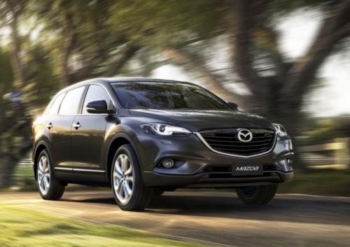 Mazda CX-9 2013 lộ ảnh xem trước - 3