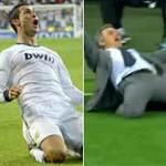 Bóng đá - Mourinho ăn mừng kiểu Ronaldo