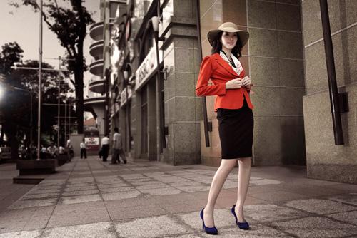 Hoa hậu Thu Thảo sành điệu, thanh lịch - 6