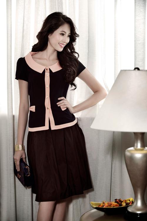 Hoa hậu Thu Thảo sành điệu, thanh lịch - 2