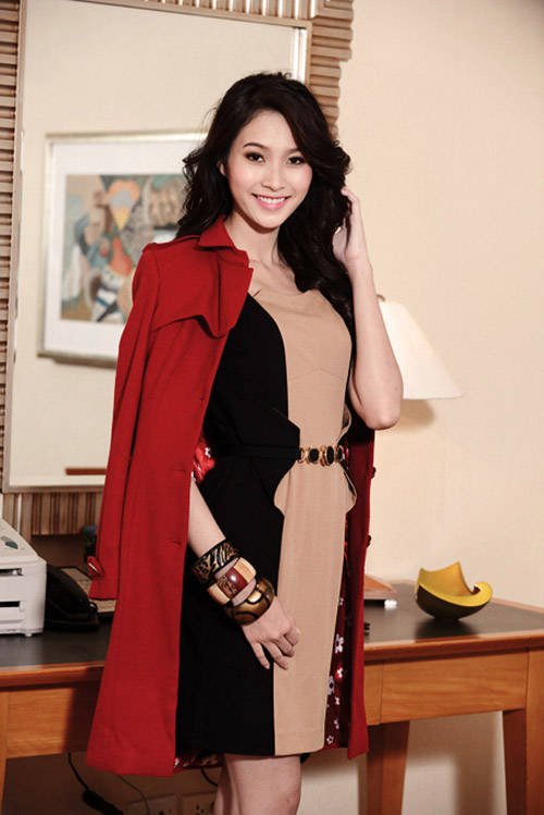 Hoa hậu Thu Thảo sành điệu, thanh lịch - 7