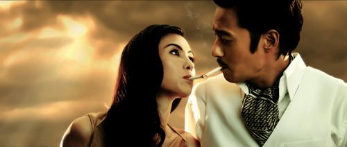 Lộ cảnh yêu của Jang Dong Gun và Bá Chi - 2