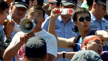 Trung Quốc kêu gọi Nhật Bản đàm phán - 1