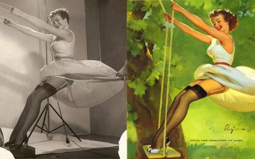 Mỹ nữ 1950s đẹp ám ảnh trong tranh - 6
