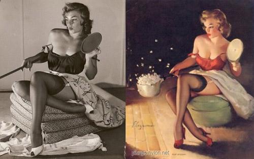 Mỹ nữ 1950s đẹp ám ảnh trong tranh - 12