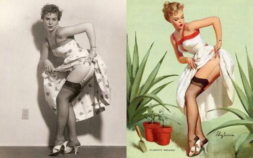 Mỹ nữ 1950s đẹp ám ảnh trong tranh - 8