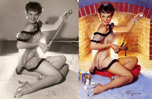 Mỹ nữ 1950s đẹp ám ảnh trong tranh - 9