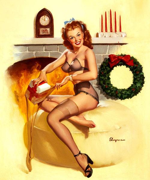 Mỹ nữ 1950s đẹp ám ảnh trong tranh - 2