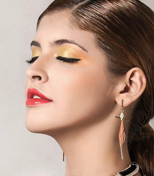 Andrea tỏa sáng cùng sắc cam vàng - 4