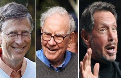 Bill Gates vẫn là người giàu nhất nước Mỹ - 1