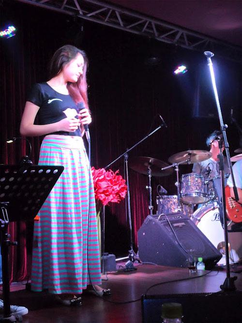 Học trò Thu Minh, Trần Lập hăng say tập hát - 5