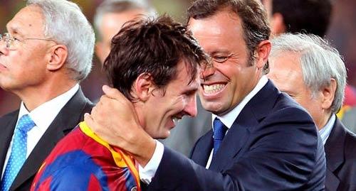 "Barca sắp ""trói"" Messi - 1"