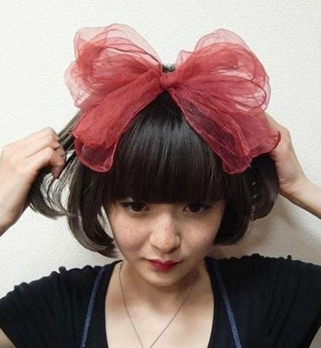 """Kết tóc """"băng đô"""" đẹp như  Kim Yoo Jung - 14"""