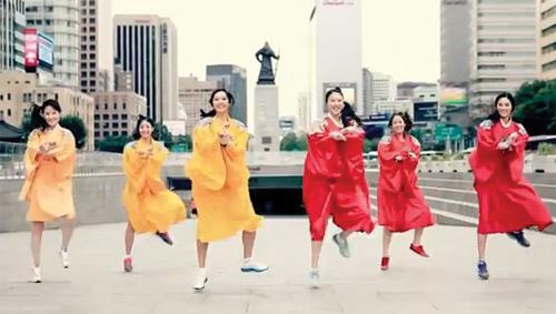 Hoa hậu Hàn Quốc sexy với Gangnam Style - 5