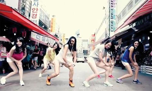 Hoa hậu Hàn Quốc sexy với Gangnam Style - 6