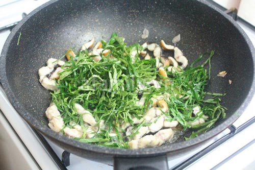 Lươn xào lá lốt ngon - bổ - dễ làm - 7