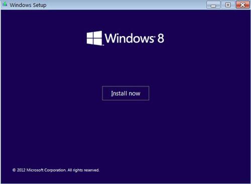 Cách cài đặt Windows 8 RTM - 2