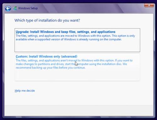 Cách cài đặt Windows 8 RTM - 3