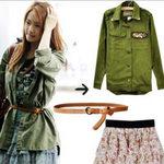 Thời trang - Ngẫu hứng thu với phong cách nhà binh