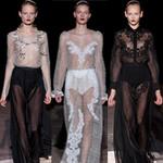 Thời trang - Bướm trắng mỏng manh trên sàn diễn Milan