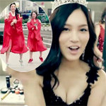 Thời trang - Hoa hậu Hàn Quốc sexy với Gangnam Style