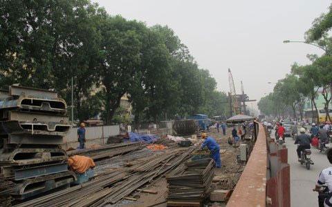 Ngổn ngang dự án đường sắt trên cao ở HN - 12