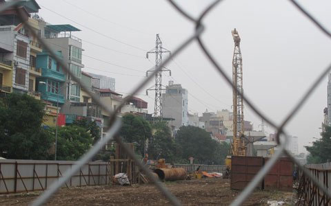 Ngổn ngang dự án đường sắt trên cao ở HN - 2