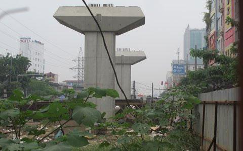 Ngổn ngang dự án đường sắt trên cao ở HN - 3