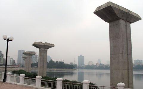 Ngổn ngang dự án đường sắt trên cao ở HN - 5