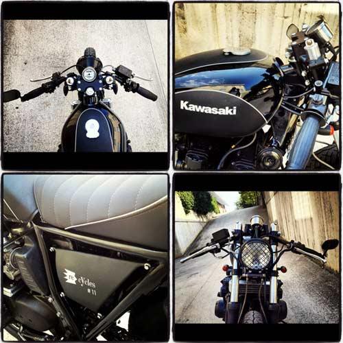 Kawasaki K750 Cafe Racer – Tái sinh - 7