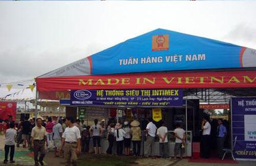 """Sẽ tổ chức """"Tuần hàng Việt"""" trên cả nước - 1"""